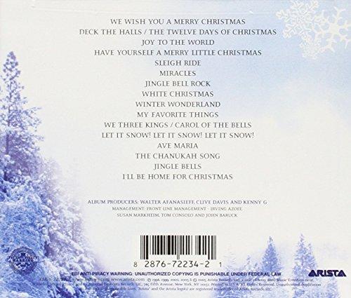 kenny g kenny g the greatest holiday classics amazoncom music