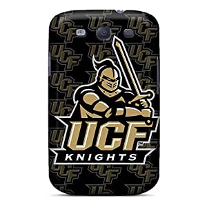 Excellent Hard Phone Cover For Samsung Galaxy S3 With Unique Design Stylish Ucf Knights Skin AnnaDubois