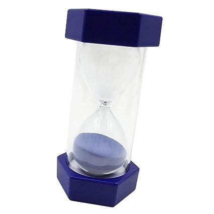 D DOLITY 8 Minutos Reloj de Arena Accesoiros Temporizador de Cocina Ejercicio Sincronización Azul
