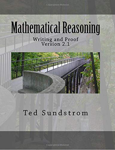 Mathematical Reasoning: Writing And Proof Version 2 1 Pdf