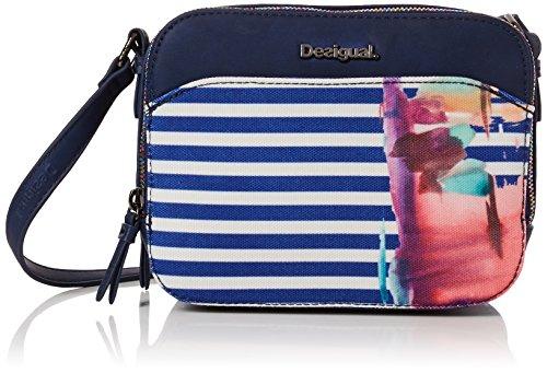 "Desigual Bag ""Rainbow Splash Jasper"" 18SAXF85 (White) for sale  Delivered anywhere in USA"