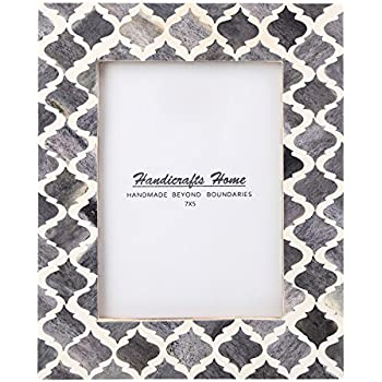 8 x Small Moroccan Mosaic Style Picture Frame with Stand Free PP