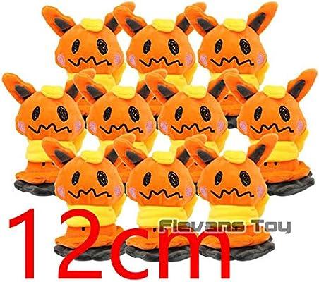 """10pcs Mimikyu 5/"""" Keychain Pendant Poke Sun Moon Plush Doll Stuffed Toy"""