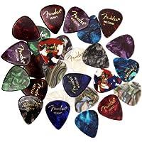 Fender Premium Picks Sampler - 24 Pack Includes Thin,...