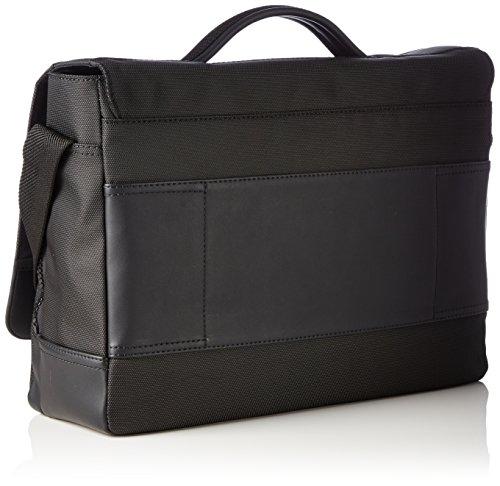 Calvin Klein Jeans Herren Zone One Handle Briefcase Henkeltaschen, 38x28x11 cm Schwarz (Black 001 001)