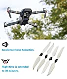 Upgraded-Spare-Parts-for-DJI-Mavic-Pro-8331-8331F-Low-Noise-Quick-release-Folding-Propellers-Prop-Guard-Bumper-Landing-Skids-Extender-Riser-Rc-Quadcopter-White
