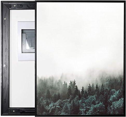LITING Caja de medidor eléctrico Pintura Decorativa Caja de distribución Europea Caja eléctrica Puede Empujar y jalar Caja Moderna Simple Decoración Caja de oclusión: Amazon.es: Hogar