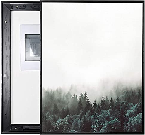 LITING Caja de medidor eléctrico Pintura Decorativa Caja de ...