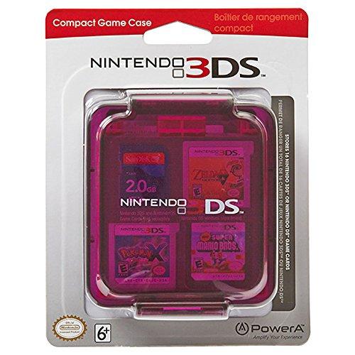 Official Nintendo 3DS/DS 16 Game Stroage Case - Clear Purple