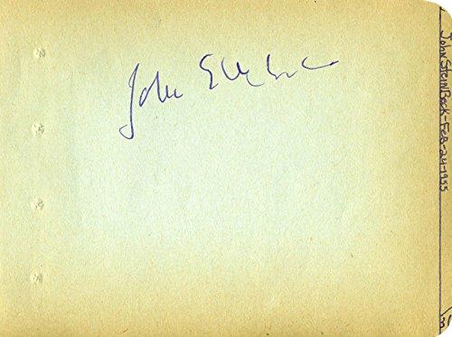 John Steinbeck - Signature Circa 1955