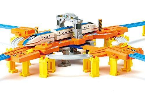 Plarail turn round and round! Big turnplate base by TOMY (Image #6)