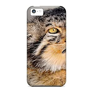 Case Cover Pallas Cat/ Fashionable Case For Iphone 5c