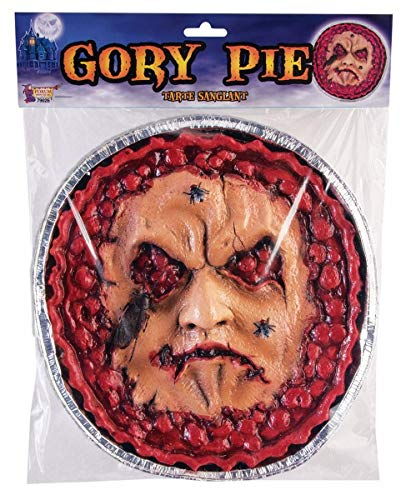 Forum Novelties Gory Pie Face Halloween Decoration Prop ()