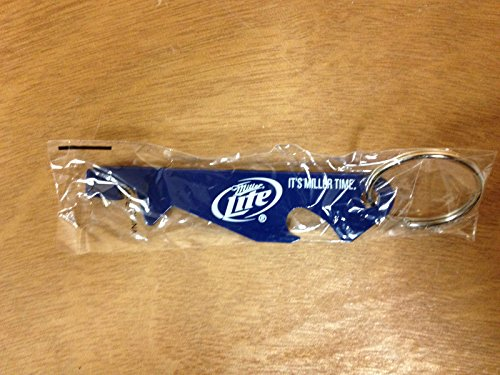 Miller Lite Beer Punch Top Bottle Opener Key Chain. (Miller Lite Can Opener compare prices)