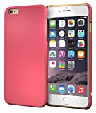 iPhone 6s Case, Apple iPhone 6s, roocase Ultra Skinny Slim Fit Thin Lightweight Shell Case [Skinny Slim] Protective Pefect Fit Non Slip Cover for Apple iPhone 6 / iPhone 6s , Soft Matte Magenta