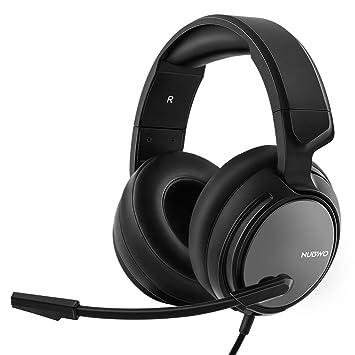 Auriculares para Juegos N12 Xbox One PS4 NUBWO, Audífonos Alámbricos y Estéreos para Juegos (