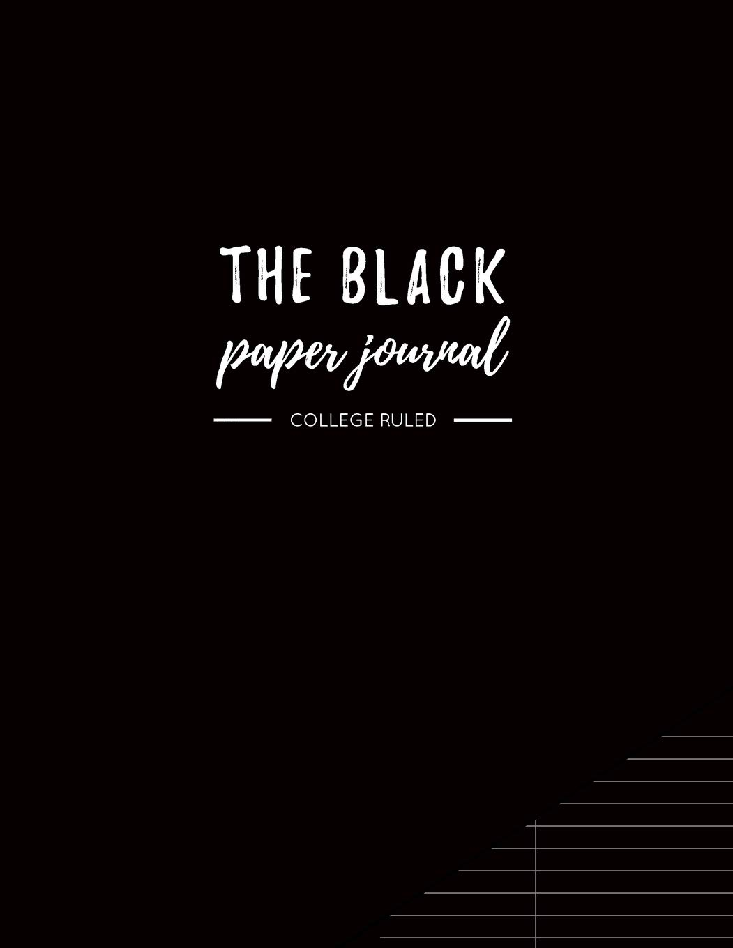Black Paper Journal College Ruled product image