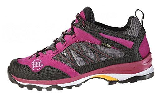 Hanwag Belorado Lady Gtx, Zapatos de Low Rise Senderismo para Mujer Rosa (Fuchsia)