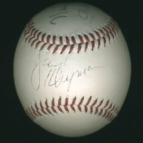 The Odd Couple Tv Cast - Baseball Signed 01/19/1997 with co-signers