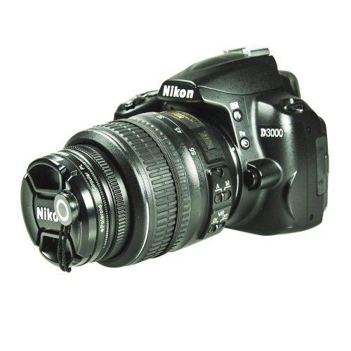 Foto&Tech 3 Pieces Camera Lens Cap Holder For Canon, Nikon, Sony, Pentax, Sigma Dslr/Slr/Evil Cameras