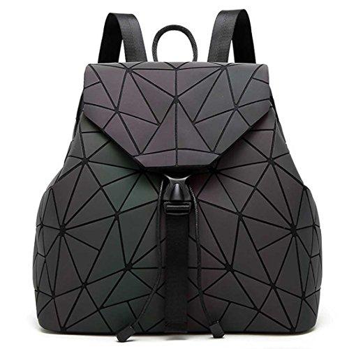 Fanshu - Bolso mochila para mujer, Schwarz2 (Negro) - SB21 Schwarz2