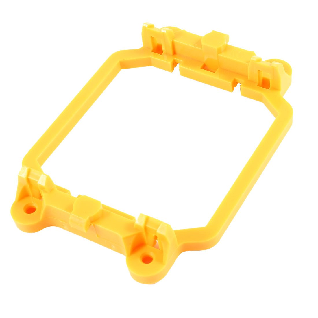 uxcell PC Computer Fan Retainer Bracket Stand Yellow for AMD AM2 AM3 Socket
