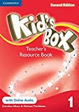 Kid's Box Level 1 Teacher's Resource Book with Online Audio Second Edition - 9781107672390