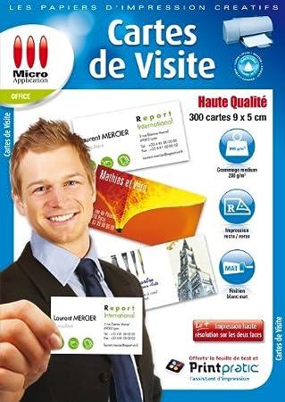 micro application carte de visite Micro Application 5011 carte de visite   cartes de visite (90 mm