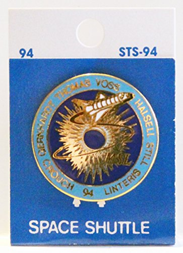 NASA STS-94 Shuttle Columbia MSL-1 Trading Collectible Lapel Pin -