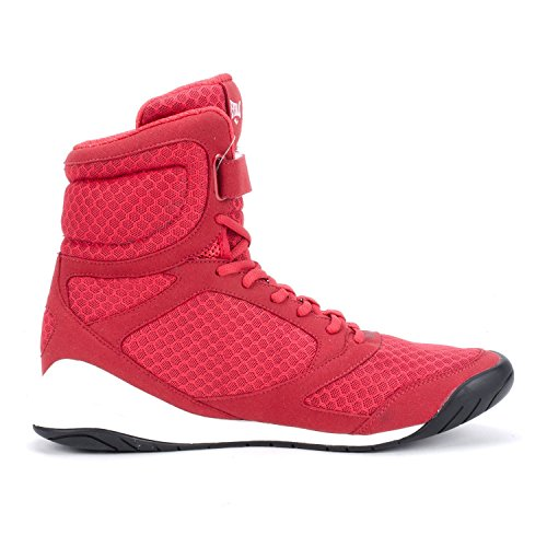 Everlast High Elite Top New Blue Black Red Red Boxing Shoes qqfOTprF