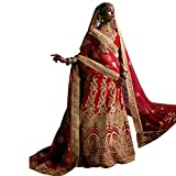 INDIAN TRADITIONAL PARTY WEAR BRIDAL WEDDING LEHENGA CHOLI DRESS MATERIAL DUPATTA