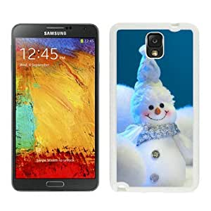 Personalized Happy little snowmen christmas Snowman White Samsung Galaxy Note 3 Case 1