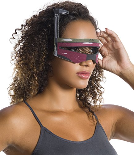 Star Wars Boba Fett Adult Costumes (Rubie's Costume Co. Men's Adult Star Wars Boba Fett Eyemask,As/Shown,One Size)