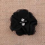 FidgetFidget Chiffon sew Flowers Big Appliques/Craft/Wedding Decoration 16#