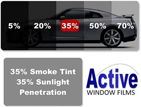 Light /& Ultra Light Car Auto Tint Window Tinting Film 5/% Limo Black 30mx76cm Active Film Limo Black Medium