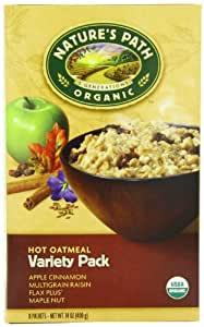 Amazon Com Nature S Path Organic Instant Hot Oatmeal