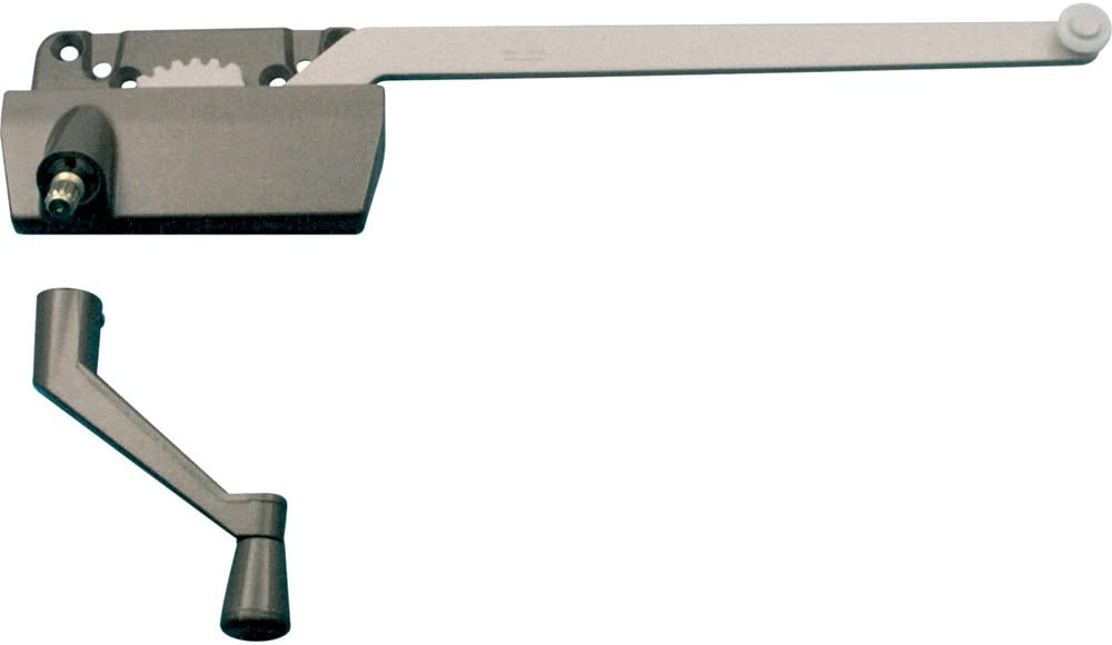 Prime Line Products Th 24038 Single Arm Operator 9 1 2 Inch With Crank Right Hand Clay Window Latches Amazon Com