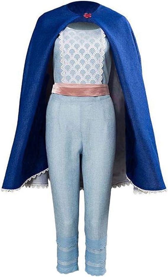 Amazon.com: Bo Peep - Capa de traje azul para disfraz de ...