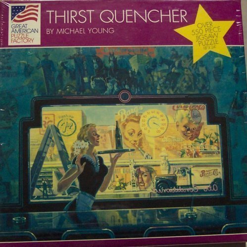 Great American Puzzle Factory; Thirst Quencher  550 Piece Jigsaw Puzzle by Great American Puzzle Factory