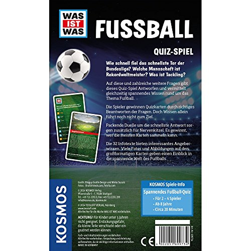 Amazon Com Kosmos 699734 Was Ist Was Fussball Quiz Toys