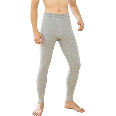 Gusspower Hombre Térmico Ropa Interior Invierno Cálido Pantalones ...