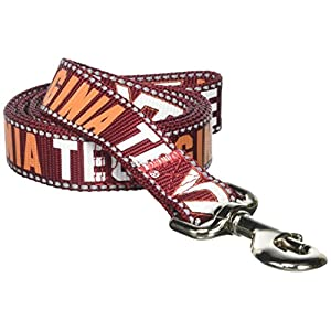 Pet Goods Manufacturing NCAA Virginia Tech Hookies Dog Lead, Large