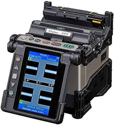 Fujikura 80S Fiber Optic Fusion Splicer Kit for SM MM DSF NZDSF Fibers PON/FTTx Networks
