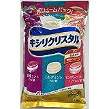 モンデリーズ・ジャパン キシリクリスタル ボリューム 1袋(433g:約117粒)巨峰 ミント ・ ミルクミント ・ ピンクグレープフルーツ ミント アソートセット
