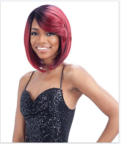 - FreeTress Equal Lace Deep Diagonal Part Lace Front Wig - SWEET BLOSSOM (1B - ...