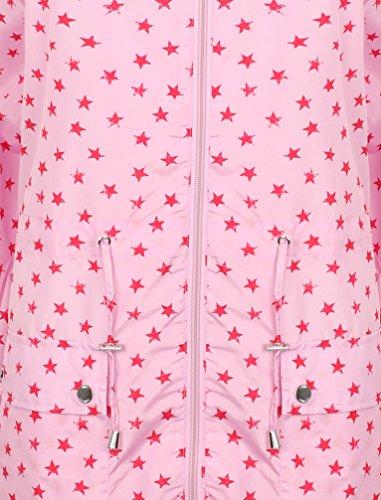 multicolore Rose Veste pluie Femme Multicolore Tokyo Parka Laundry de 34 zqwYpOAFx4