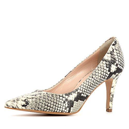 Evita Shoes Aria - Zapatos de vestir de Piel para mujer gris