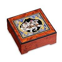 The San Francisco Music Box Company ¡Encore! Carrusel Horse Jewelry Box por