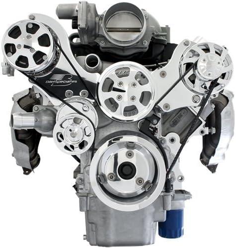 Nueva Billet Specialties tru-trac Chevy ls7 frontal Motor Kit con ...