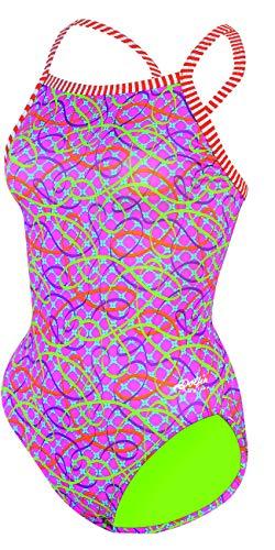 21657a3b09e83 Dolfin Women s Uglies V-2 Back One Piece Swimsuit (Soiree